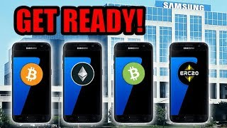 Samsung Galaxy S10 Will Bring Crypto To It