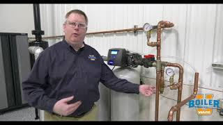 Checking the Water Softener