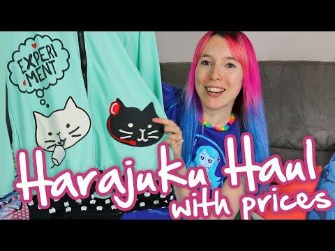 HARAJUKU HAUL: Kawaii Japanese Clothing