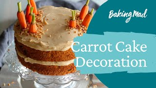 How to decorate the best ever nielsen-massey carrot cake