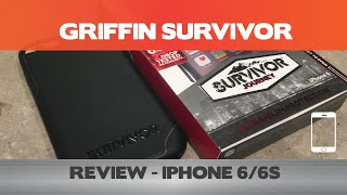 Griffin Survivor Journey Review - Pleasantly Surprised By This IPhone Case -  IPhone 6(s+)