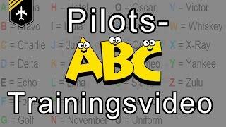 Pilot´s alphabet TRAINING video with pictures by Captain Joe