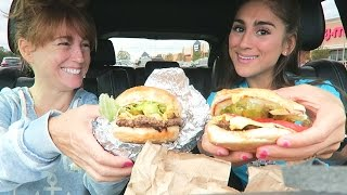 EATING 5 GUYS! FIRST TIME EVER REACTION!