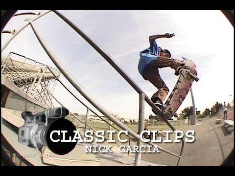 Nick Garcia Skateboarding Classic Clips #80