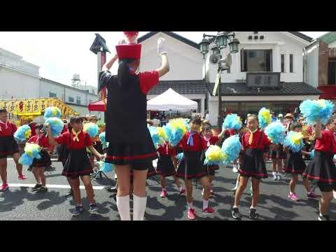 山目小学校スクールバンド(第68回いちのせき夏まつり2019.8.2)