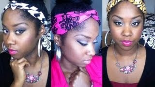DIY Headband (quick, Easy, No Sewing)