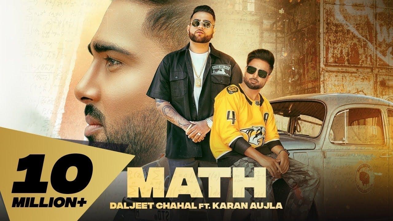 Math  Daljit Chahal Karan Aujla Lyrics