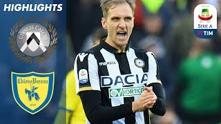 Udinese 1-0 Chievo   Late Udinese Goal Breaks Deadlock   Serie A