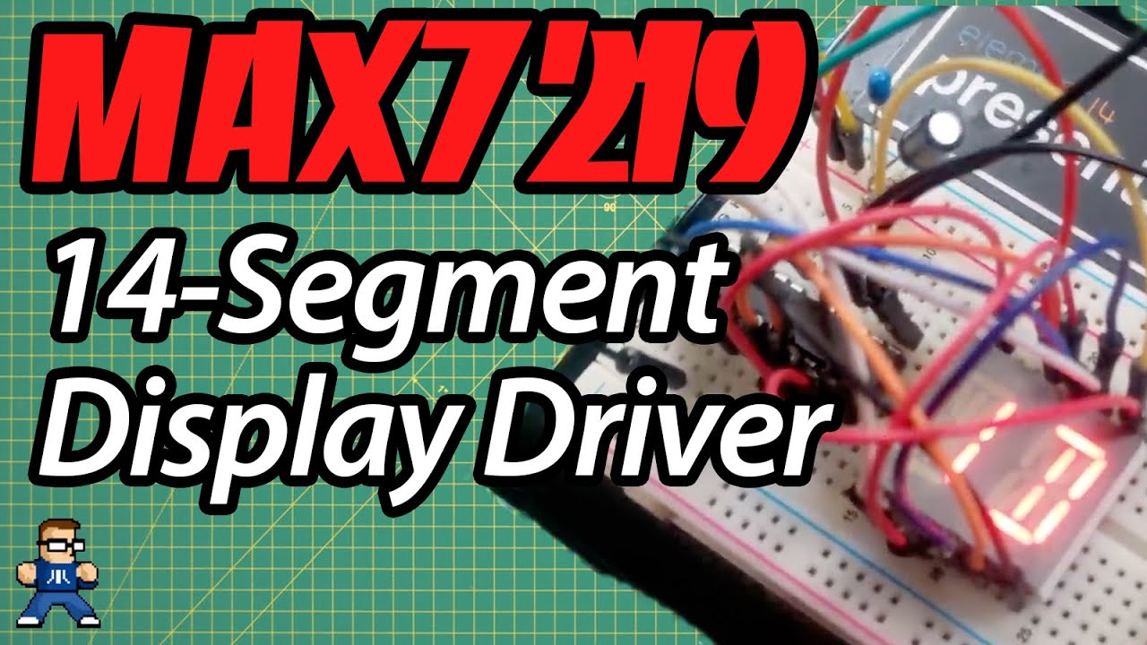 Driving LED Displays With Arduino And MAX7219