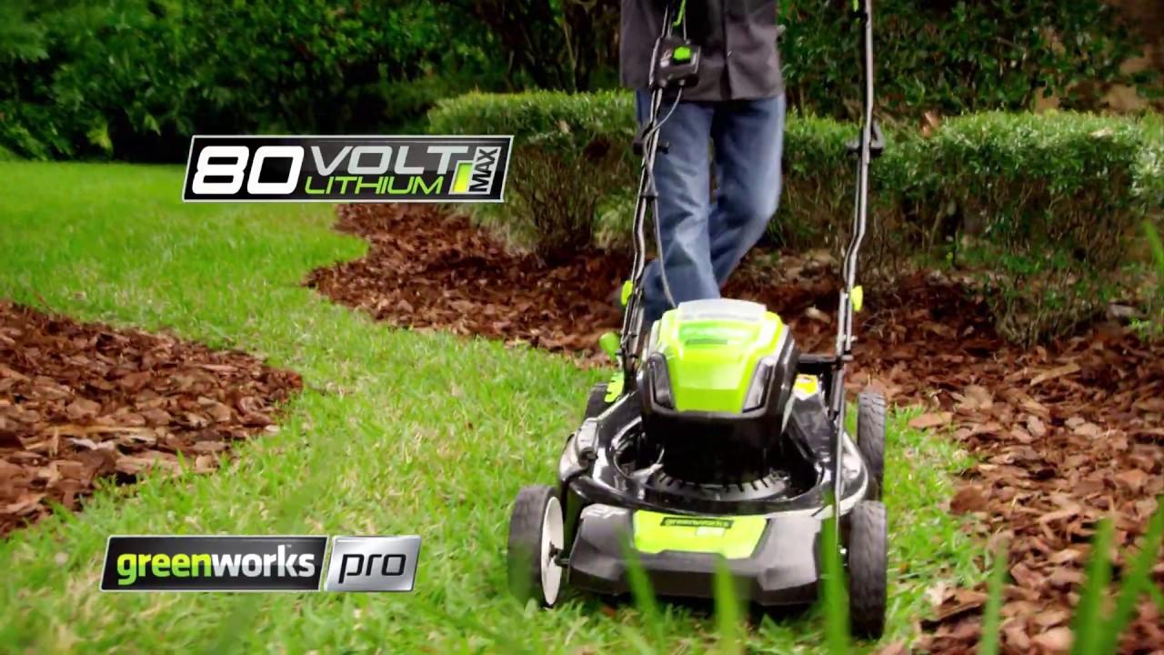 80V Cordless Mower