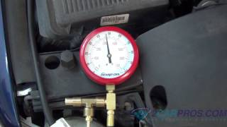 Fuel Pump Pressure Test