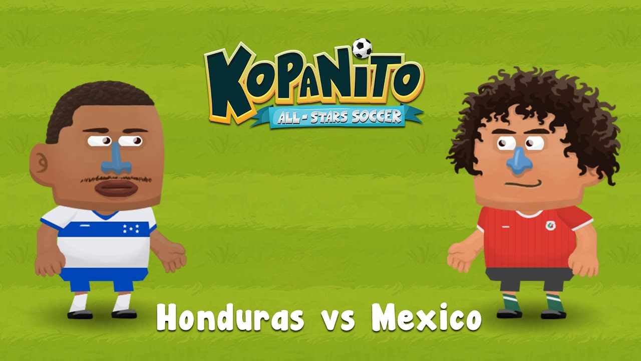 Gameplay - Honduras vs Mexico