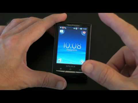 Sony Ericsson Xperia X10 Mini Mobile Phone - Unboxing & R