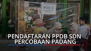 PPDB SDN Percobaan Padang, Orang Tua Cukup Serahkan Data Petugas yang Entri ke Sistem PPDB Online