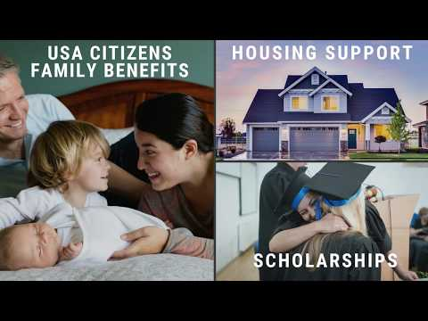 USA Citizens Family and Housing Benefits