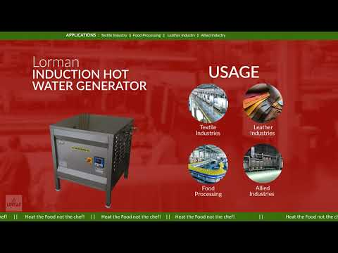 Induction Hot Water Generator