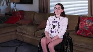 Amy's Army gets Emma a new Wheelchair!!