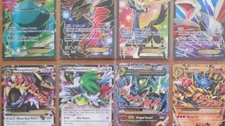 Over 100 EX and Full Art Pokemon cards for sale plus more!!