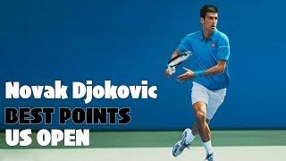 テニス伝説衝撃プレー連発!ジョコビッチの全米オープン歴代スーパープレイ!神業NovakDjokovicBestUSOpen