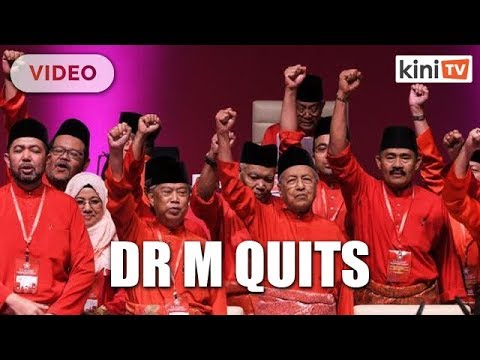 Confirmed! - Dr Mahathir tenders resignation, Bersatu quits PH