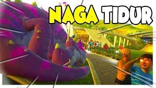 JANGAN GANGGU NAGA YG LAGi TiDUR 😂 Planet Coaster Indonesia #19