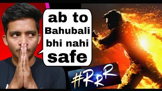 RRR movie: is Tsunami ke liye tayar rehna | Badal yadav | #RRR motion poster review in hindi