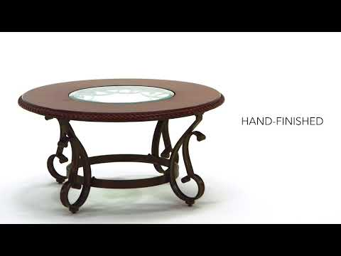 Gambrey T626-8 Round Cocktail Table