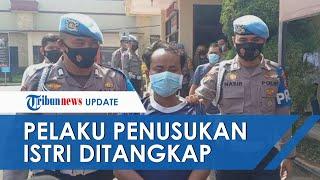 Seusai Viral, Pelaku Penusukan Istri di Bandung Tertangkap, Cemburu Korban Dibonceng Pria Lain