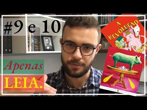 Livros #9 e #10 | A REVOLUÇÃO DOS BICHOS, de George Orwell (DUAS EDIÇÕES)
