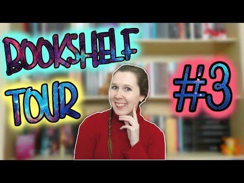 VEDA #7 | Bookshelf Tour (parte 3) | Leituras de Deni