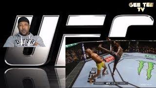 Israel Adesanya Vs Anderson Silva FIGHT HIGHLIGHTS Reaction Video