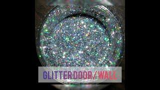 EXTREME ROOM MAKEOVER - DIY GLITTER DOOR/ WALL😍😍