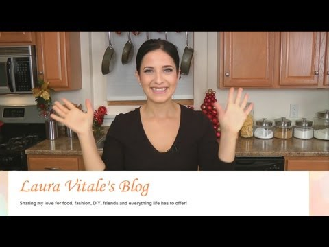 Special Announcement: Laura Vitale's New Blog!