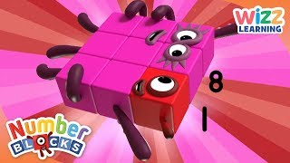 Numberblocks - Finding The Difference | Learn to Count | Wizz Learning