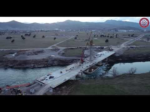 Izgradnja mosta na Jugozapadnoj obilaznici