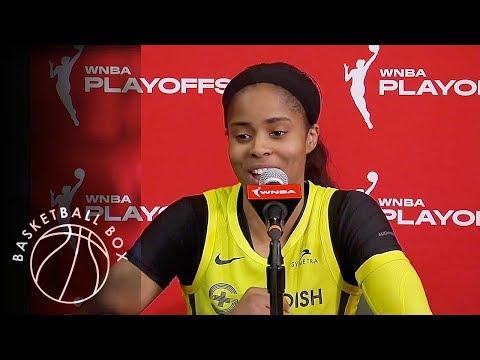 [WNBA Playoffs Round1] Jordin Canada, Post-Game Press Conference, September 11, 2019