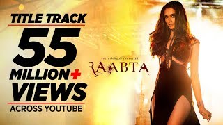 Get ready to be mesmerised by Deepika Padukone Tune in to the RaabtaTitleTrack here