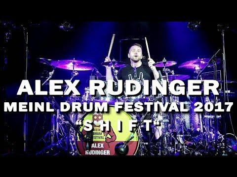 """Meinl Drum Festival - Alex Rudinger - """"SHIFT"""""""