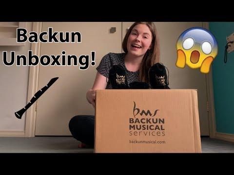 Backun Q Clarinet and Lumiere Bells and Barrels Unboxing