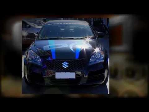 "Option Audio Suzuki Kizashi custom rims 20"" Zumbo Kuverup Mag Wheels"