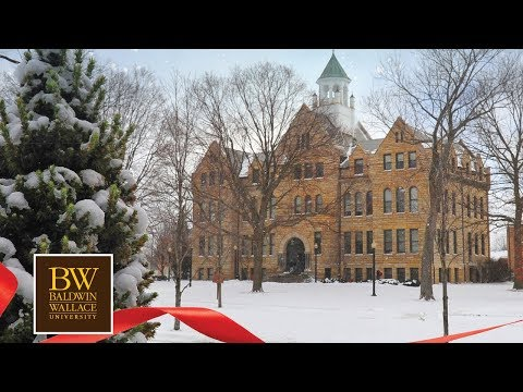 Merry Christmas and Happy New Year from Baldwin Wallace University