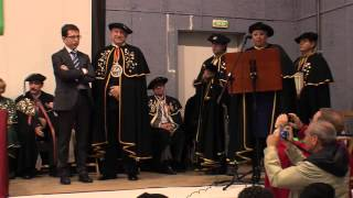 preview picture of video 'XIII Capítulo Cofradía del Aceite de Oliva de Navarra. Añorbe, 2013.'