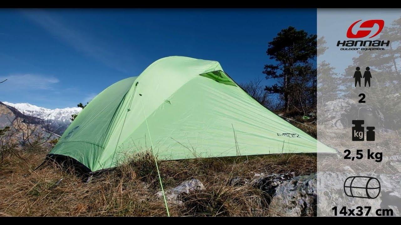 Видео Палатка двухместная Hannah Eagle 2 темно-зеленая