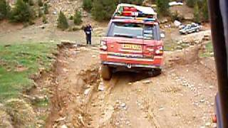 preview picture of video 'Range Rover Sport G4 Off road, Pyrenees'