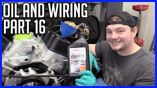 Wiring, Senders and, Oil Priming