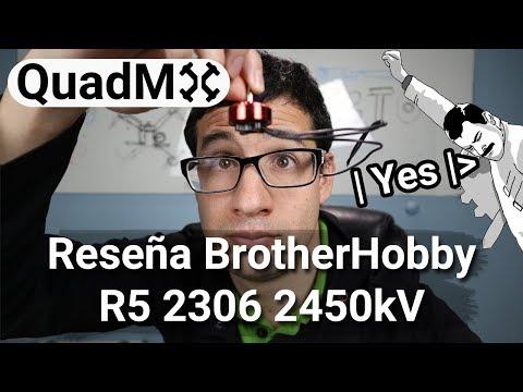 Reseña BotherHobby R5 2450KV - Español