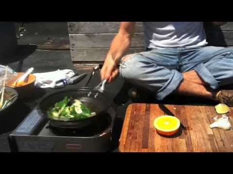 Spicy Orange Bok Choy – Brooklyn Rooftop Garden Recipes