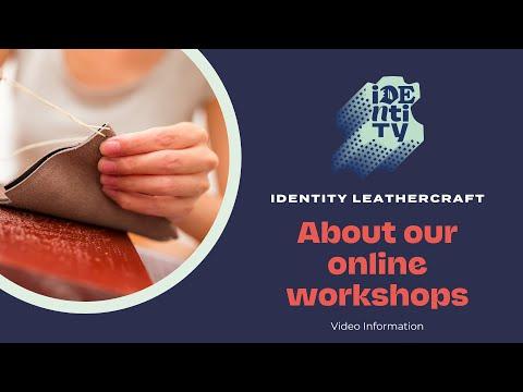 Learning Leathercraft Online
