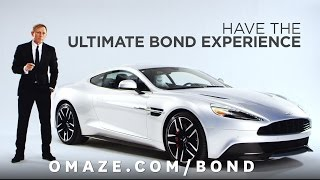 Join Daniel Craig in London for the ultimate Bond experience