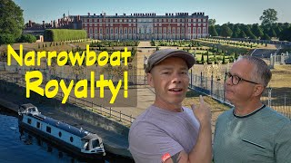 History and Two Royal Palaces on the River Thames by Narrowboat